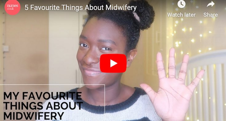 The 5 things I love most about working in midwifery