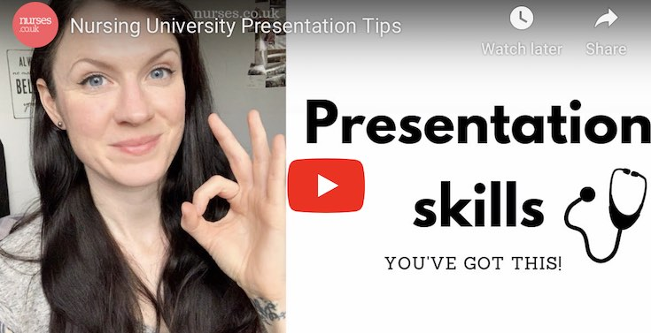 How to give a presentation as a Nurse - 6 Tips for Presenting