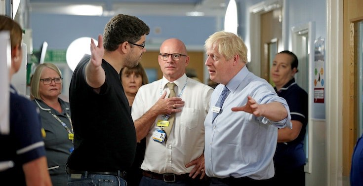 Angry parent tells Boris Johnson shortage of Nurses is not acceptable