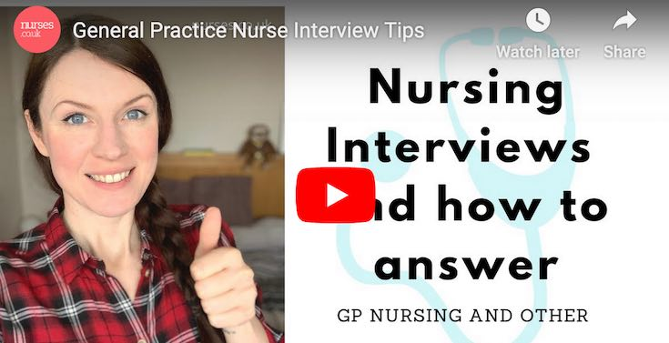General interview tips and answers to typical nursing interview questions