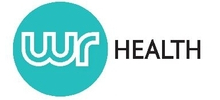 WR Health's logo takes you to their list of jobs