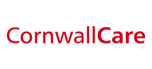 Cornwall Care's logo takes you to their list of jobs