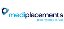 Mediplacements's logo takes you to their list of jobs