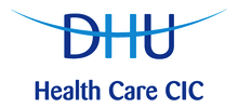 DHU Healthcare's logo takes you to their list of jobs