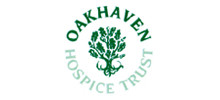 Oakhaven Hospice Trust's logo takes you to their list of jobs