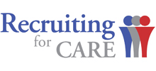 Recruiting For Care's logo takes you to their list of jobs