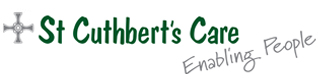 St Cuthberts care's logo takes you to their list of jobs