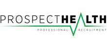 Prospect Health's logo takes you to their list of jobs