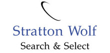 Stratton Wolf Search & Select's logo takes you to their list of jobs
