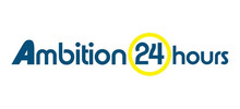 Ambition 24's logo takes you to their list of jobs