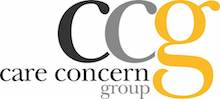 Care Concern Group's logo takes you to their list of jobs