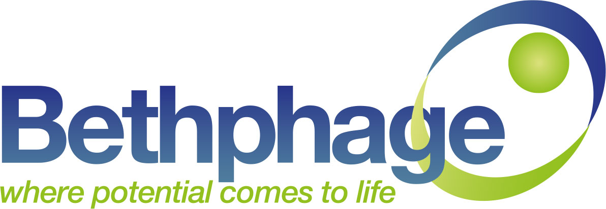 Bethphage's logo takes you to their list of jobs