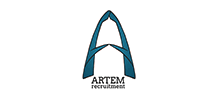 Artem Recruitment's logo takes you to their list of jobs