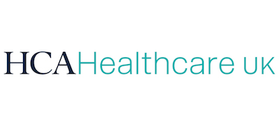 HCA Healthcare UK's logo takes you to their list of jobs