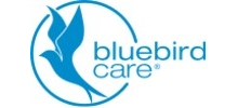 Bluebird Care's logo takes you to their list of jobs