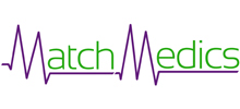 MatchMedics's logo takes you to their list of jobs
