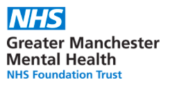 Greater Manchester Mental Health NHS Trust's logo takes you to their list of jobs