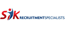 SYK Recruitment's logo takes you to their list of jobs