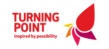 Turning Point's logo takes you to their list of jobs