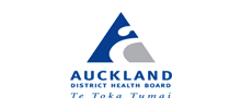 Auckland District Health Board's logo takes you to their list of jobs