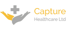 Capture Healthcare's logo takes you to their list of jobs