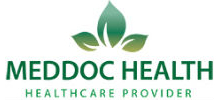 Meddoc Health's logo takes you to their list of jobs