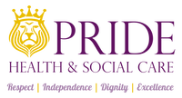 Pride Health and Social Care Ltd's logo takes you to their list of jobs