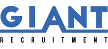 Giant Recruitment's logo takes you to their list of jobs
