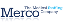 Merco Medical Staffing's logo takes you to their list of jobs