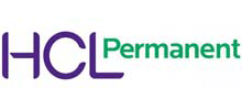 HCL Permanent's logo takes you to their list of jobs